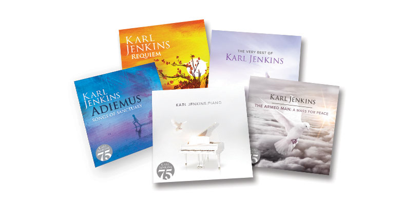 75th celebrations for Karl Jenkins on disc and in concert