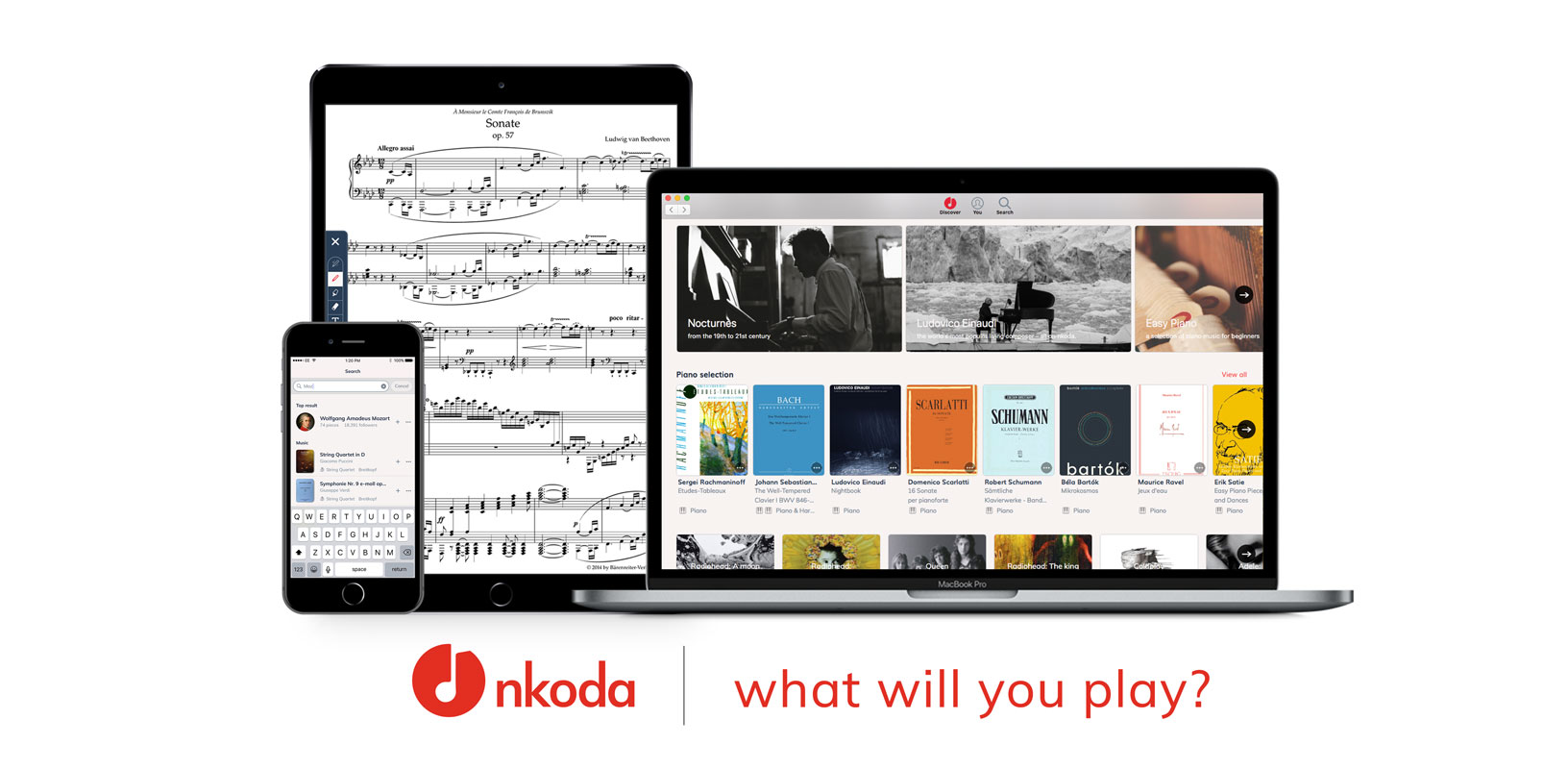 Transforming 500 years of music: the arrival of nkoda