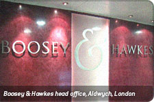 Boosey & Hawkes head office, Aldwych, London