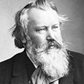 Johannes Brahms photo