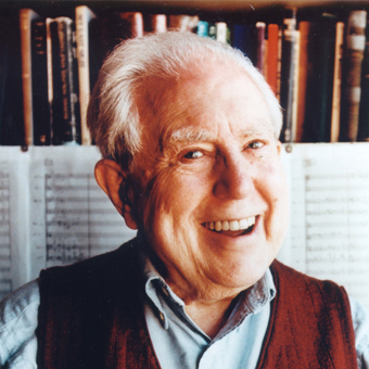 Elliott Carter photo © Meredith Heuer