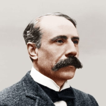 Edward Elgar photo © Booseyprints