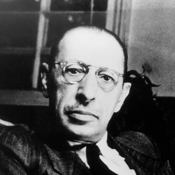 Igor Stravinsky photo © Gene Fenn