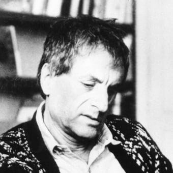 Iannis Xenakis photo © Ralph A Fassey