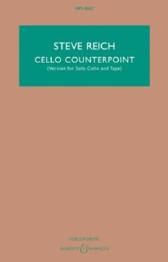 Cello Counterpoint - Solo Cello & Tape (HPS 0667)