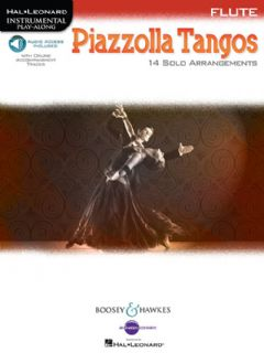 Piazzolla Tangos for Flute