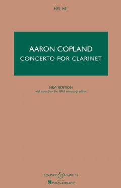 Clarinet Concerto (New edition)