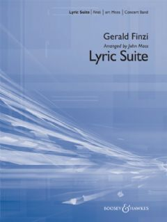 Lyric Suite (Score)