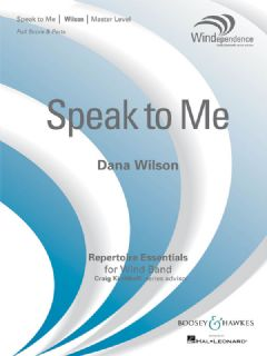 Speak to Me (Score & Parts)