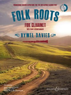 Folk Roots for Clarinet (Book & CD)