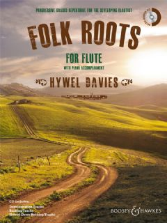 Folk Roots for Flute (Book & CD)