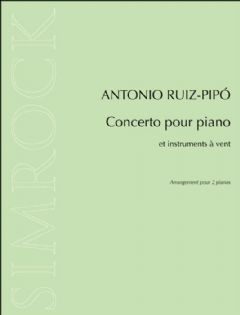 Concerto for piano and wind instruments, for 2 pft