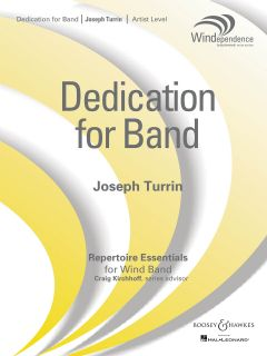 Dedication for Band (Score & Parts)