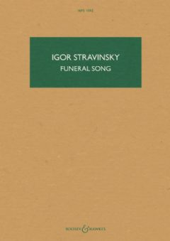 Funeral Song, Op. 5 (Hawkes Pocket Score)