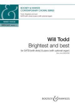 Brightest and best (SATB & Piano or Organ)