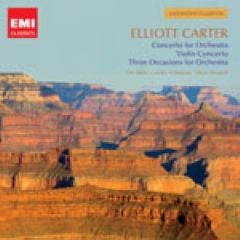 Elliott Carter: Three Occasions  (1986-89)