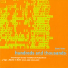 hundreds and thousands  (1999)
