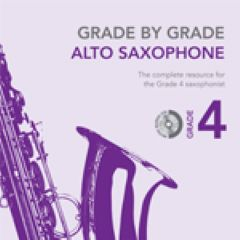 **Hurdy-Gurdy (accomp.) from Grade by Grade for Alto Saxophone**