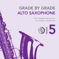 **Rhapsody on a theme of Paganini (accomp.) from Grade by Grade for Alto Saxophone**