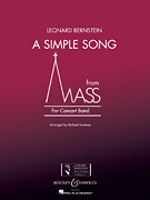 A Simple Song from 'Mass' (Wind Band Score)