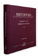 Beethoven's Symphony No.9 Cloth-Bound Full Score