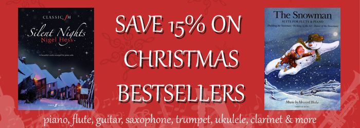 Save 15% on Christmas Sheet Music Bestsellers