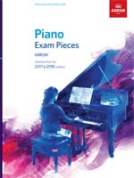 ABRSM Piano Exam Pieces 2017 & 2018