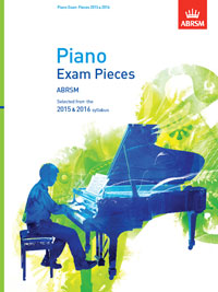 ABRSM Piano Exam Pieces 2015-2016