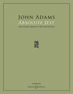 John Adams: Absolute Jest - Full Score