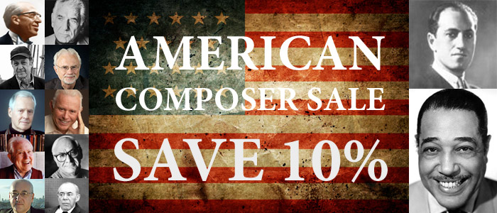 Save 10% on American Composers in October