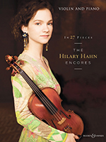 Hilary Hahn's 27 Encores for Violin Out Now