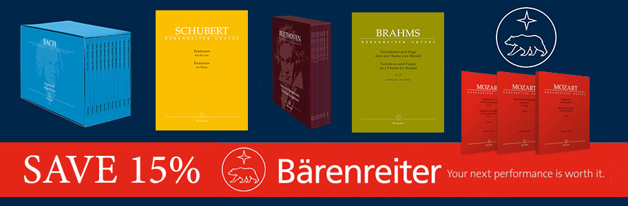 Save 15% on Barenreiter