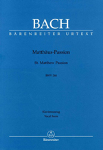 Barenreiter Vocal Scores