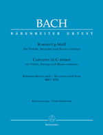 New from Bärenreiter