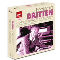 Britten Recordings on EMI & Virgin Classics