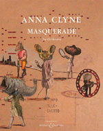 Anna Clyne's Masquerade now Published