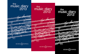 Boosey & Hawkes Music Diary 2013