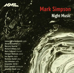 Mark Simpson Night Music CD - NMC Recordings
