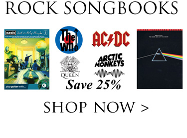 Save 25% on Rock Songbooks