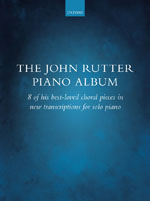 Out Now - The John Rutter Piano Album