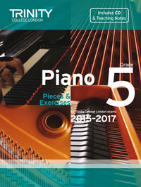 Trinity College London Piano Exam Pieces 2015-2017