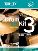 Trinity College Drum Kit Pieces 2014-2019