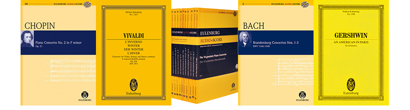 Save 10% on all Eulenburg Publications
