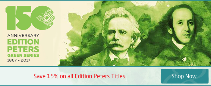 Save 15% on Edition Peters