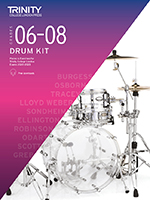 Trinity College Drum Kit Exam Pieces 2020-2023