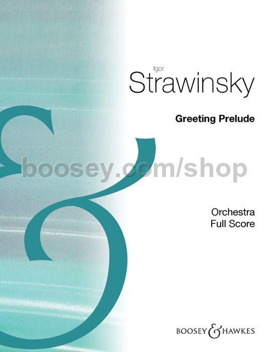 Igor stravinsky greeting prelude igor stravinsky greeting prelude m4hsunfo
