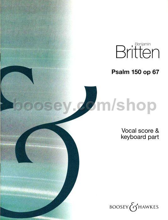 Psalm 150, Op. 67 Vocal Score