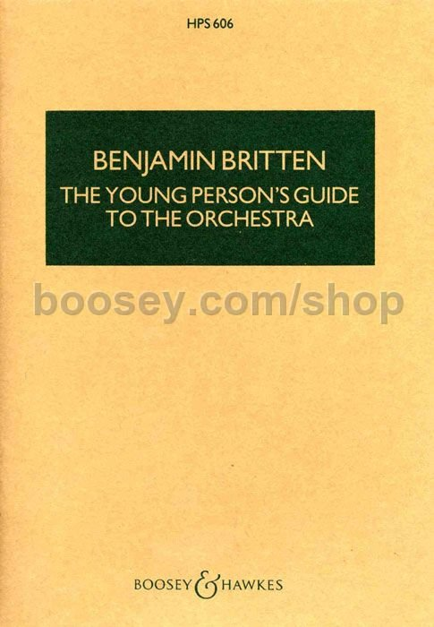 benjamin britten the young person 39 s guide to the orchestra op 34. Black Bedroom Furniture Sets. Home Design Ideas