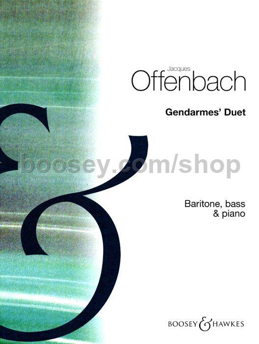Jacques offenbach gendarmes 39 duet in d for Hs offenbach