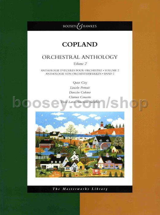 Aaron Copland - Orchestral Anthology 2